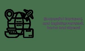 Transport and logistics network