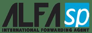 Logotip logističnega podjetja Alfa SP